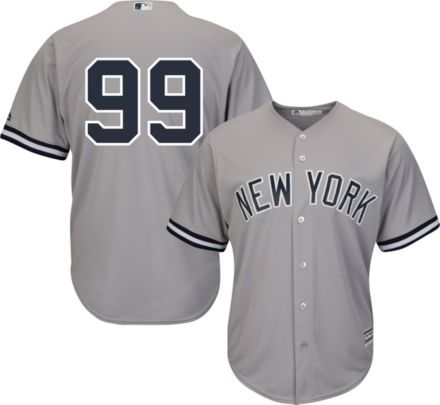 a9cd9387a61 Majestic Men  39 s Replica New York Yankees Aaron Judge  99 Cool Base