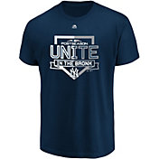 Majestic Men's New York Yankees 2018 MLB Postseason Navy T-Shirt