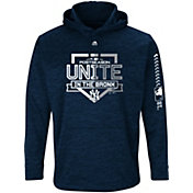 Majestic Men's New York Yankees 2018 MLB Postseason Navy On-Field Therma Base Hoodie