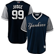 "Majestic Men's New York Yankees Aaron Judge ""Judge"" MLB Players Weekend Jersey"