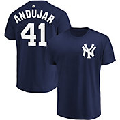 Majestic Men's New York Yankees Miguel Andujar #41 Navy T-Shirt
