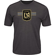Majestic Men's Los Angeles FC Athletic Advantage Black T-Shirt