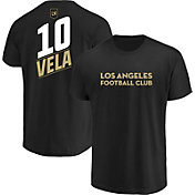 MLS Men's Los Angeles FC Carlos Vela #10 Black Player T-Shirt