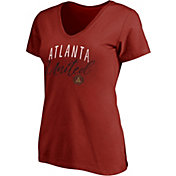 Majestic Women's Atlanta United Gracegul Red V-Neck T-Shirt