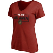 Majestic Women's Atlanta United We Are Red V-Neck T-Shirt