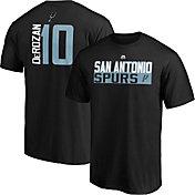 NBA Men's San Antonio Spurs DeMar DeRozan #10 Black T-Shirt