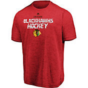 Majestic Men's Chicago Blackhawks Off The Post Red T-Shirt