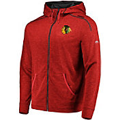 Majestic Men's Chicago Blackhawks Elite Red Full-Zip Hoodie