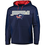 Majestic Men's Columbus Blue Jackets Armor Navy Hoodie