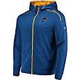 Majestic Men's St. Louis Blues Elite Blue Full-Zip Hoodie