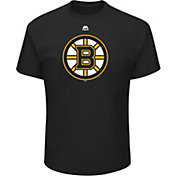 Majestic Men's Boston Bruins Big Logo Black T-Shirt