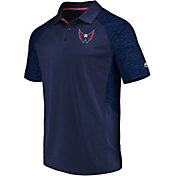 Majestic Men's Washington Capitals Ultra Navy Polo