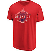 Majestic Men's Washington Capitals Drop The Pass Red T-Shirt