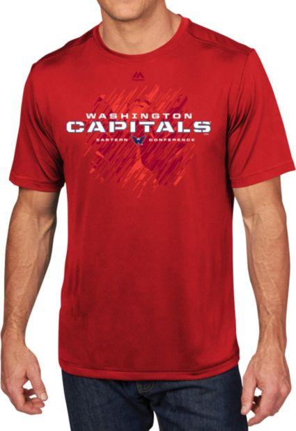 ae4e72ec3e8 Majestic Men s Washington Capitals Off The Post Red T-Shirt. noImageFound