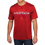 Majestic Men's Washington Capitals Off The Post Red T-Shirt