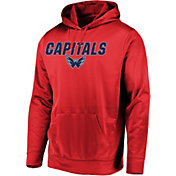 Majestic Men's Washington Capitals High Energy Red Pullover Hoodie