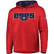 Majestic Men's Washington Capitals Armor Red Hoodie