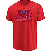 Majestic Men's Washington Capitals Toe Drag Red T-Shirt