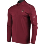Majestic Men's Arizona Coyotes Ultra Red Quarter-Zip Pullover