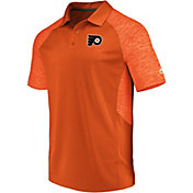 Majestic Men's Philadelphia Flyers Ultra Orange Polo
