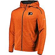 Majestic Men's Philadelphia Flyers Elite Orange Full-Zip Hoodie