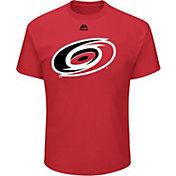 Majestic Men's Carolina Hurricanes Big Logo Red T-Shirt