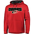 Majestic Men's Carolina Hurricanes Armor Red Hoodie