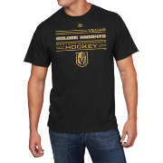 Majestic Men's Vegas Golden Knights Forecheck Black T-Shirt