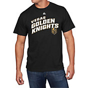 Majestic Men's Vegas Golden Knights Appeal Play Black T-Shirt