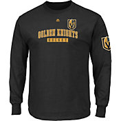 Majestic Men's Vegas Golden Knights Keep Score Black Long Sleeve Shirt