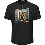 Majestic Men's Vegas Golden Knights Penalty Shot Black T-Shirt