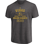 Majestic Men's Vegas Golden Knights Forecheck Heather Grey T-Shirt