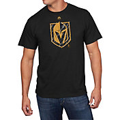 Majestic Men's Vegas Golden Knights Hash Marks Black T-Shirt