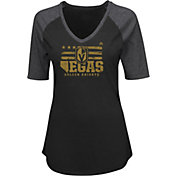 Majestic Women's Vegas Golden Knights My Team Black V-Neck T-Shirt