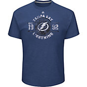 Majestic Men's Tampa Bay Lightning Drop The Pass Gold T-Shirt