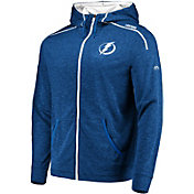 Majestic Men's Tampa Bay Lightning Elite Blue Full-Zip Hoodie