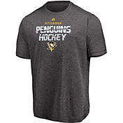 Majestic Men's Pittsburgh Penguins Off The Post Grey T-Shirt