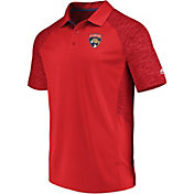 Majestic Men's Florida Panthers Ultra Red Polo