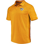 Majestic Men's Nashville Predators Ultra Gold Polo