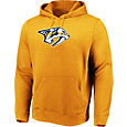 Majestic Men's Nashville Predators Perfect Play Gold Hoodie
