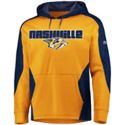 Majestic Men's Nashville Predators Armor Gold Hoodie