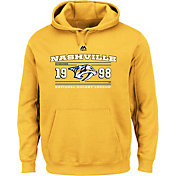 Majestic Men's Nashville Predators Winning Boost Gold Pullover Hoodie