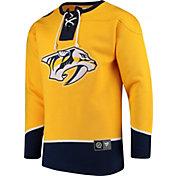 NHL Men's Nashville Predators Breakaway Gold Sweatshirt