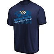 Majestic Men's Nashville Predators Toe Drag Navy Performance T-Shirt