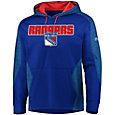 Majestic Men's New York Rangers Armor Blue Hoodie