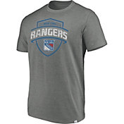 Majestic Men's New York Rangers Flex Classic Heather Grey T-Shirt