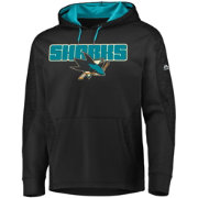 Majestic Men's San Jose Sharks Armor Black Hoodie