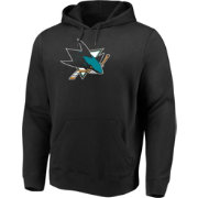Majestic Men's San Jose Sharks Perfect Play Black Hoodie