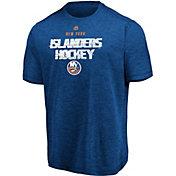 Majestic Men's New York Islanders Off The Post Blue T-Shirt