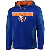 Majestic Men's New York Islanders Armor Blue Hoodie